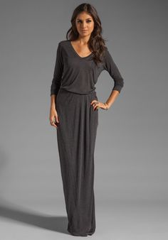 Army Green Long Sleeve Pockets Maxi Dress - Pinterest - Sleeve ...