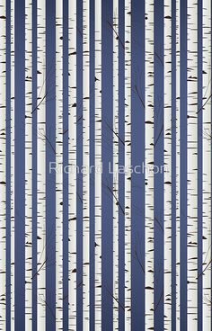 Illustration of Birch wood pattern vector art, clipart and stock vectors. Vector Pattern, Pattern Design, Vektor Muster, Birch Forest, Character Design Tutorial, Photo Mural, Clipart Design, Wood Patterns, Pattern Illustration