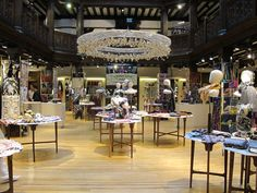The glorious Liberty scarf hall - I worked on the shop floor for a year before getting a job as Assistant Buyer for the Bathhouse. Liberty Scarf, Flooring, Shop, Wood Flooring, Floor, Store