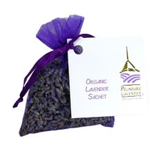 One for the car, one for the desk, one for the clothes drawers... Make every space smell wonderful with our Organic Lavender Sachets.