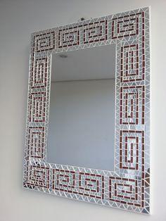 Mosaico espelho indigena