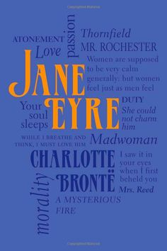 Jane Eyre (Word Cloud Classics): Charlotte Bronte: Book cover
