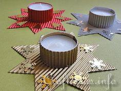 Christmas Star Tea Light Holder (for kids)