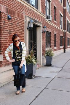 Style Session: Get Your Chic On Comfortably on The Trendy Sparrow blog