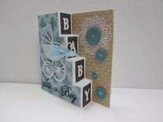 Baby Side Steps Card