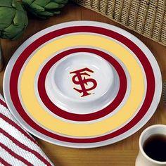 Florida State Seminoles (FSU) Melamine Serving Tray #UltimateTailgate #Fanatics