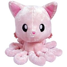 "TENTACLE KITTY (PINK) 8"" PLUSH DOLL * Check out the image by visiting the link. (This is an affiliate link) #PlushFigures"