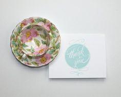 Haze & Bright thank you cards