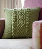 1000 images about knitted cushions on pinterest knit - Cojines a palillo ...