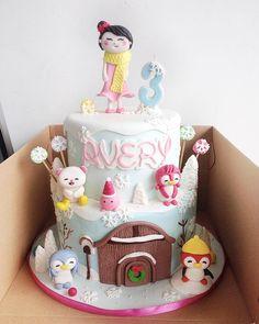 ❄️ #badanamu #birthdaycake #cakesemarang