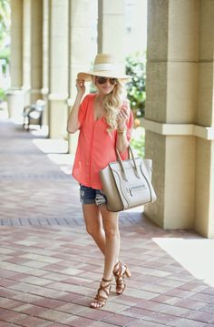A Spoonful of Style: Coral Off The Shoulder