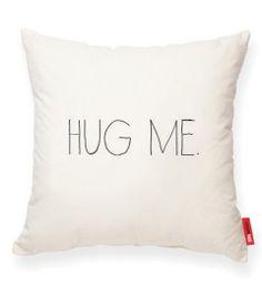 HUG ME Muslin Decorative Pillow