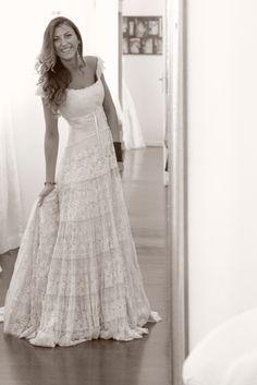 Wedding dress by Roberta Lojacono.