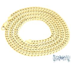 Grams:108.4  Metal Purity:       10Karat      Yellow    Gold  Type:Chain  Price:$4,000.00  100% Natural earth mined diamond I do not sell enhanced diamonds  Ships out in an elegant jewelry box for your pleasure