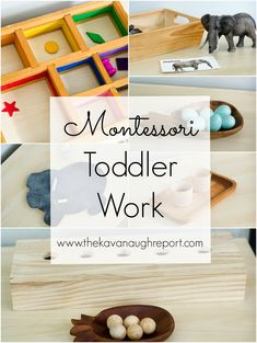 Toddler Work — Toddlers in a Homeschool Classroom. Some tips on keeping toddlers busy while sharing a preschool space. Montessori Baby, Montessori Homeschool, Montessori Classroom, Montessori Activities, Infant Activities, Learning Activities, Montessori Bedroom, Educational Activities, Toddler Learning