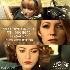 Everyone is gossiping about Blake Lively in The Age of Adaline! Find out why today - Get tix: http://lions.gt/adalinetix