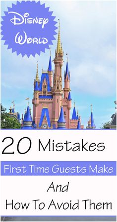 Learn how to avoid these common rookie mistakes on your next trip to Disney World. Disney World Vacation, Disney Cruise Line, Disney Vacations, Walt Disney World, Disney Travel, Disney World Tips And Tricks, Disney Tips, Disney With A Toddler, Adventures By Disney