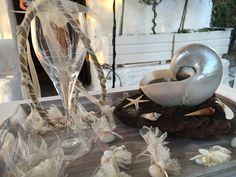 Wedding ceremony table decoration