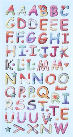 Creapop SOFTY-Stickers Design Buchstaben 3451137