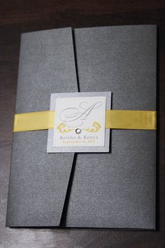 Diy wedding invitations ribbon belly bands Ideas for 2019 Yellow Wedding Invitations, Cricut Wedding Invitations, Wedding Invitation Templates, Wedding Stationery, Belly Bands For Invitations, Invitation Belly Band, Invitation Wording, Invitation Ideas, Wedding Invitations