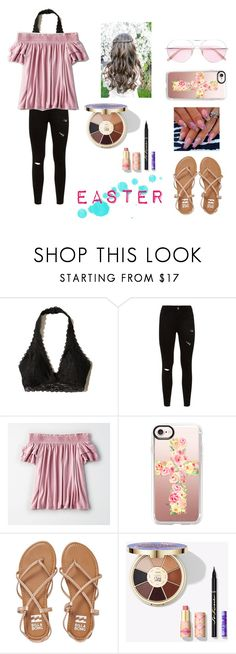 """Easter (or Passover) is coming up!!"" by ava83lewis ❤ liked on Polyvore featuring Hollister Co., American Eagle Outfitters, Casetify, Billabong and Oliver Peoples"