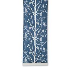Family tree -tapetti - sininen - Ferm Living