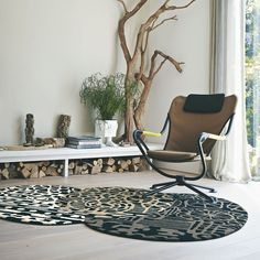 Estella Fossil 84204 Wool Rugs by Brink & Campman