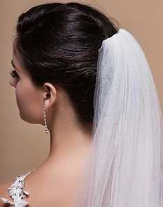 3m Long 1 Tier Off White Cathedral Soft Tulle Wedding Bridal Veil With Comb