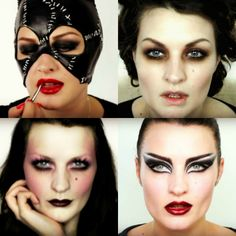 Gothic Make-up looks from Pixiwoo MUAs