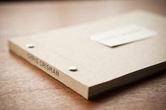 DIY books, Album für Photos - Album, Photoalbum, Buch, Notizheft, Portfolio binden und Selbermachen- mit Buchschrauben