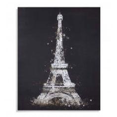 Bassett Mirror 'Eiffel Tower' Canvas Wall Art