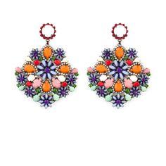 Orecchino CLIVIA - variante MENTA Easels, Whistles, Jewellery, Artist, Earrings, Handmade, Beauty, Fashion, Mint