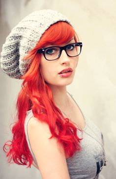 Going to dye my hair something bold like this in a year or two. Sick of plain brown