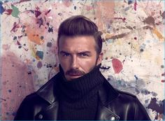 David Beckham poses for the pages of Madame Figaro.