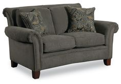 Norwood Norwood Stationary Loveseat by Lane - Hudsons Furniture - Love Seat Tampa, St Petersburg, Orlando, Ormond Beach