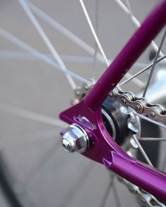 Winter Bicycles Velvet Hammer