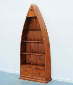 Scotland Boat Shape Bookcase