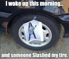 Ninja level vandalism. #Slash