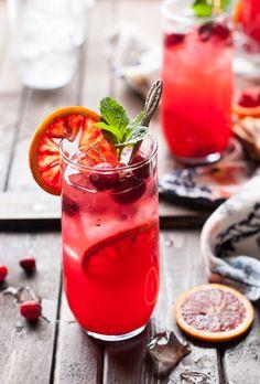 Cranberry Blood Orange Lemonade Recipe
