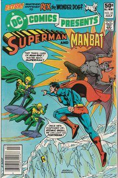 DC Comics Presents Vol. 4 No. 35  1981  Superman and Man-Bat by TheSamAntics