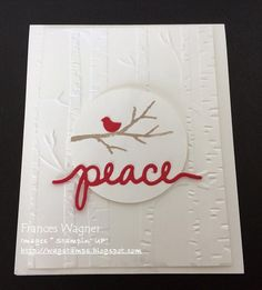 Stamp with Frances: Woodland Textured Impressions Embossing Folder