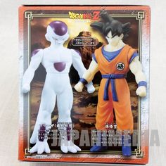 Dragon Ball Z Son Gokou Freeza Play Hero VS. Set Action Figure BANDAI JAPAN
