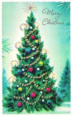 Old Christmas Post Cards — (538x850)