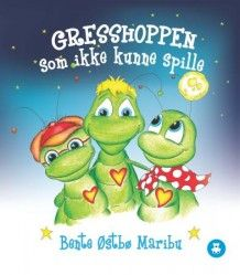Gresshoppen som ikke kunne spille av Bente Østbø Maribu (Innbundet) Barn, Fictional Characters, Country Barns, Warehouse, Sheds