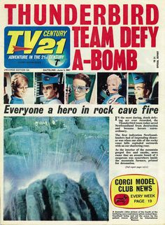 Pulp Fiction, Science Fiction, Thunderbirds Are Go, Sci Fi Tv, My Childhood Memories, Back In The Day, 21st Century, Movie Tv, Novels