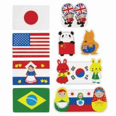 P3089 - National Flags Baran | BZMOMMY