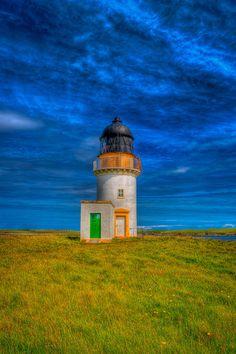 Arnish Point #Lighthouse, Stornoway Harbour, Isle of Lewis, #Scotland http://malinconialeggera.tumblr.com/?og=1