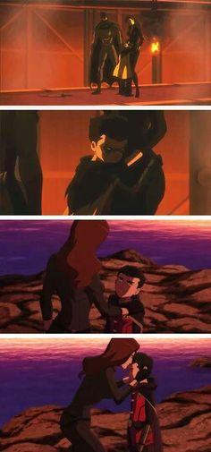 Son of Batman Damian~Talia moments.