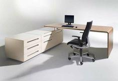 Schreibtisch-Büro-hell-kompakt. Mit casetur mechanism wird dieser tolle Eckschreibtisch zum Mulit-Finktionsmöbel. Ganz einfach zu integrieren. Mehr unter www.casetur.com