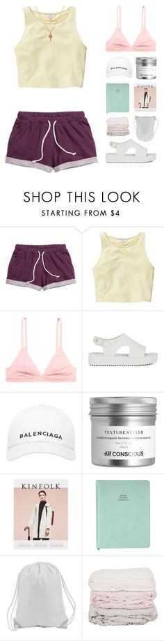 """Stacy"" by hey-its-lexiib ❤ liked on Polyvore featuring Talula, H&M, Melissa, Balenciaga, Mirabelle and country"